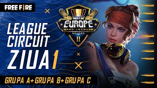 [RO] Free Fire Europe Pro League Season 2 - League Circuit Day 1