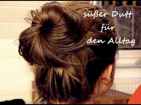 s er dutt f r den alltag youtube. Black Bedroom Furniture Sets. Home Design Ideas