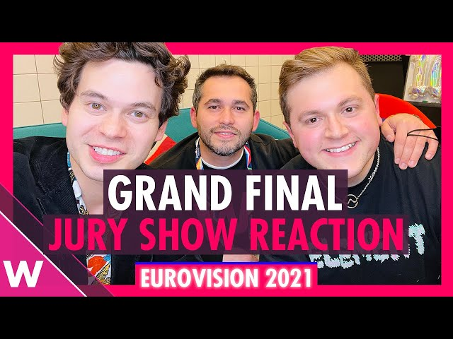 Eurovision 2021 Jury Final Reaction and our winners