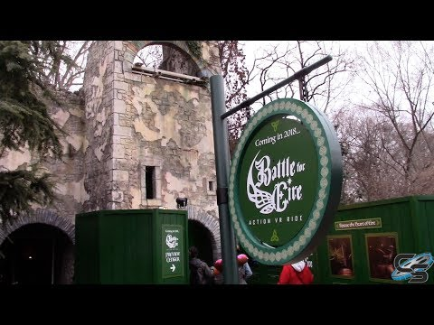 Battle for Eire December 2017 Update Busch Gardens Williamsburg