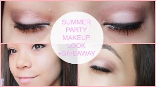 Summer Party Makeup Look+GIVEAWAY! (LookMazing Challenge) Thumbnail