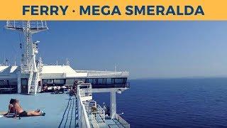 Passage ferry MEGA SMERALDA, Bastia - Livorno (Corsica Sardinia Ferries)