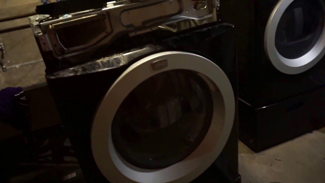 Como componer Frigiaire Affinity lavadora que no hace el ultimo Spin