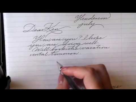 Tips for improving cursive writing
