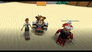 T POSING ROXAS! | Kingdom Hearts - Roblox