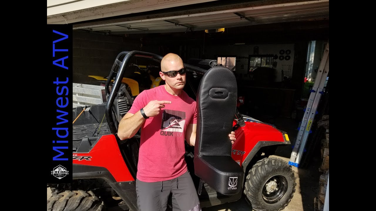 Polaris Rzr Bump Seat Install And Review Youtube