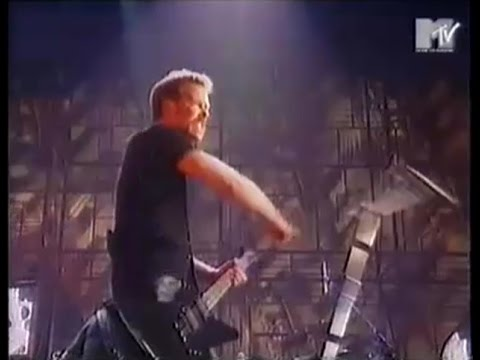 Metallica - Live at The MTV Europe Music Awards (1996) [TV Broadcast]