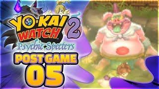 Yo-kai Watch 2 Psychic Specters Gameplay 100% Walkthrough Post Game...