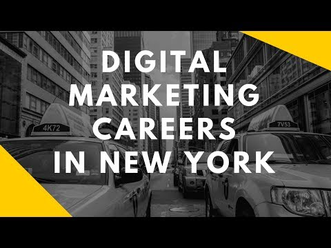 Digital Marketing Career Walkthrough New York City