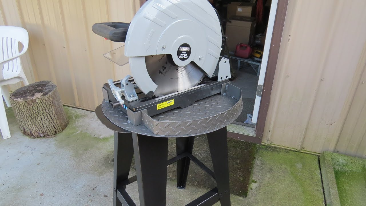 dry cut metal saw. ironton 14\ dry cut metal saw