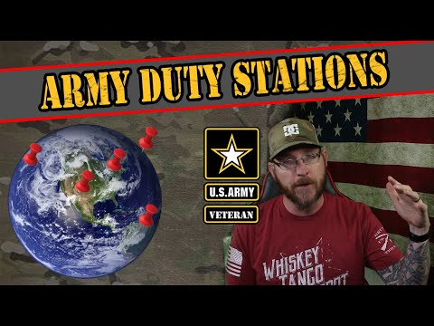 Where You Could Get Stationed At In The Army
