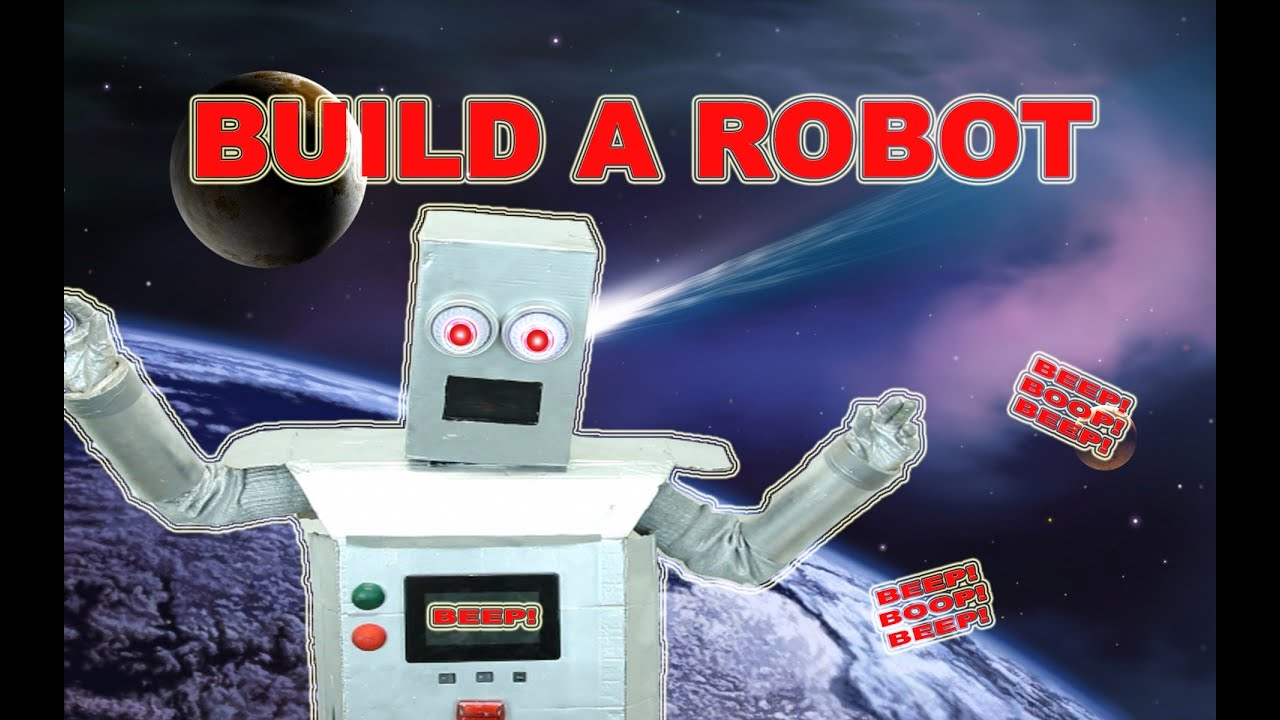 Easy to make Robot costume & Easy to make Robot costume - YouTube