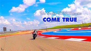 """Hunter Honda Video About His """"COTA EXPERIENCE"""" Video"""