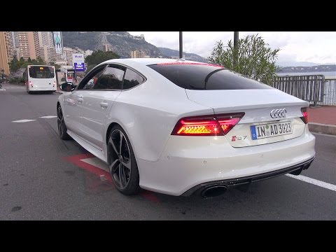 2016 Audi RS7 Sportback Performance - Start up, Revs, Accelerations!