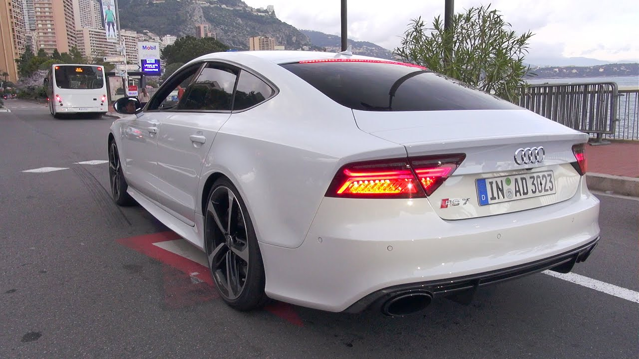 2016 audi rs7 sportback performance start up revs accelerations youtube. Black Bedroom Furniture Sets. Home Design Ideas