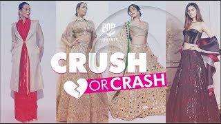 Crush Or Crash: Akash Ambani and Shloka Mehta's Reception - Episode 69 - POPxo