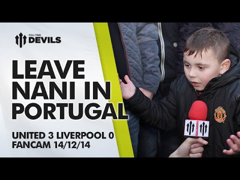 Leave Nani in Portugal - Manchester United 3 Liverpool 0 - FANCAM - 동영상