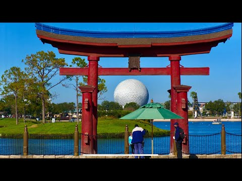 EPCOT Japan Pavilion Walking Tour in 4K | World Showcase Walt Disney World Orlando Florida 2020