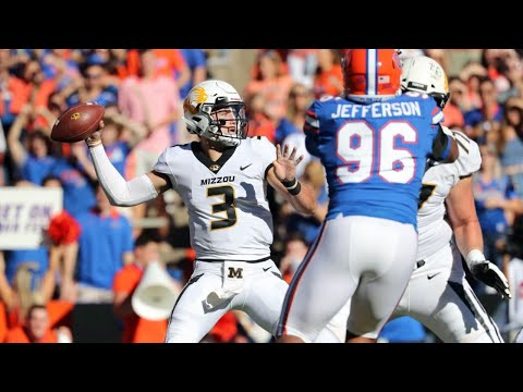Missouri vs #11 Florida 2018 CFB Highlights