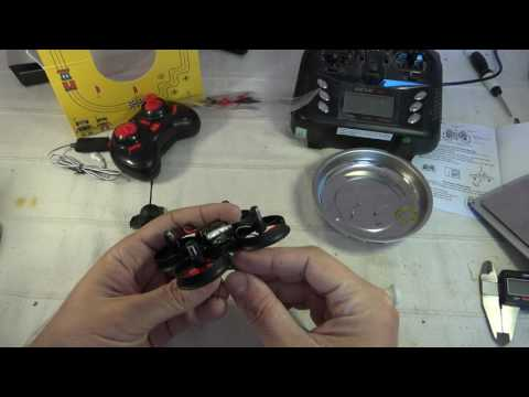 NIHUI NH 010 5.8G FPV unboxing, analysis and demo flight (Courtesy TomTop)