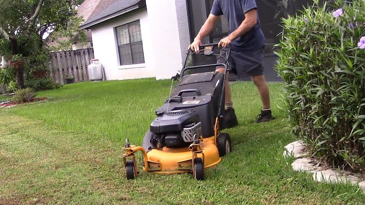 Lawn Care Vlog 33 Cub Cadet Src 621 In Action Bagging