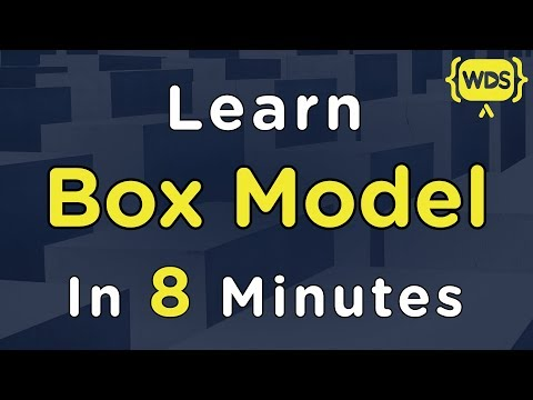 Learn CSS Box Model In 8 Minutes