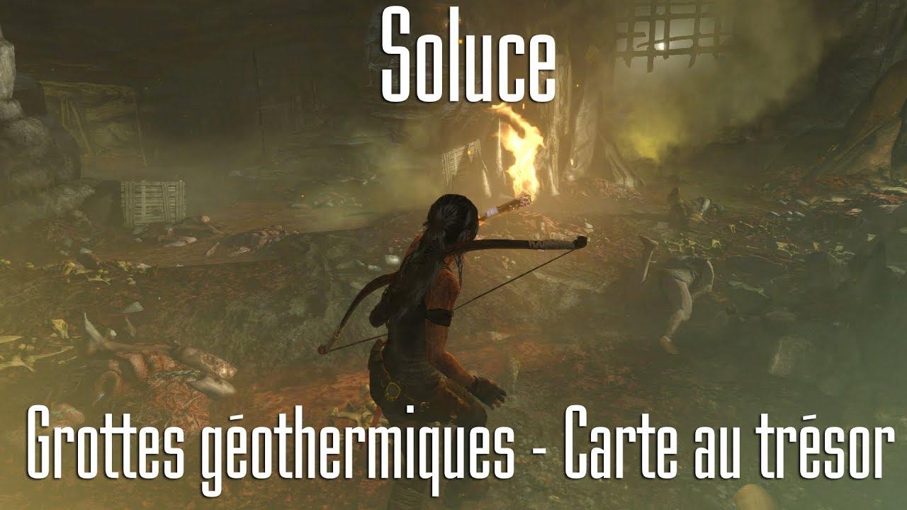 Carte Au Tresor Odyssey.Tomb Raider 2013 Grottes Geothermiques Carte Au Tresor