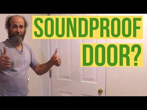 How To Soundproof And Seal A Door Way DIY