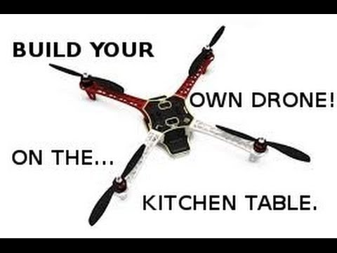 build your own drone on the kitchen table new series on putting together a dji f450 youtube. Black Bedroom Furniture Sets. Home Design Ideas