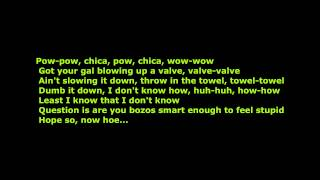 Eminem- Berzerk [HD Sound] [Lyrics On Screen]