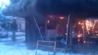 Ukraine War - Bomb explodes at the cafe in Odessa oblast in Ukraine