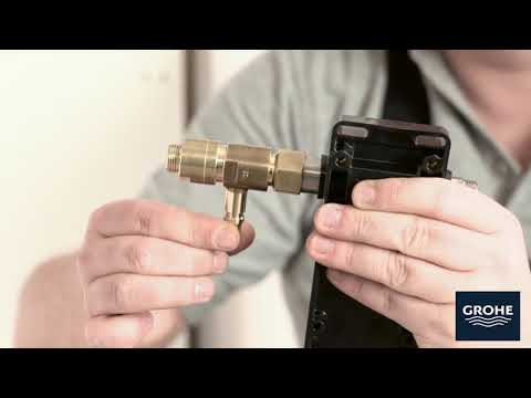 GROHE Minta Touch: Installation