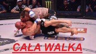 HIT ! POPEK MONSTER VS ROBERT BURNEIKA ! CAŁA WALKA ! HIT ! KSW 38 COLOSEUM ! 2017 Video