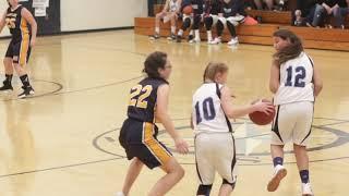 Medomak at Oceanside 8th grade girls basketball
