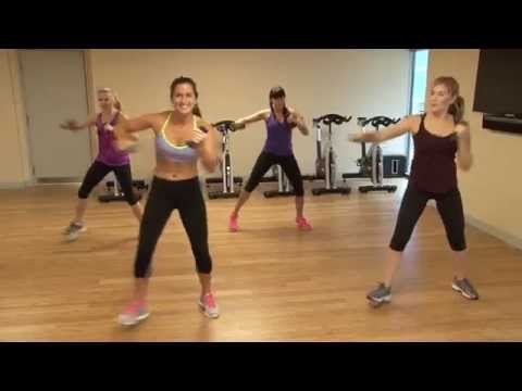 Fitness Dance (with weights!):