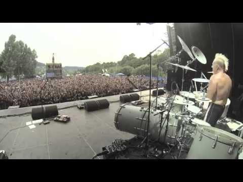 Mike Terrana Double Bass Massacre Masters of Rock 2014