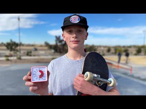 ROMAN HAGER CRUSHES QUEEN CREEK IN 30 MINUTES! | Santa Cruz Skateboards