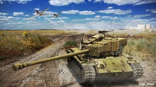 T26E4 Super Pershing. Как танковать ИС-3? Как играть?
