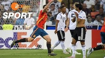 Spanien - Deutschland 2:1 - Zusammenfassung | Fußball U21-EM 2019 - ZDF