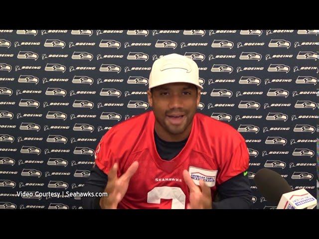 Russell Wilson on Oh Line 2020-08-13