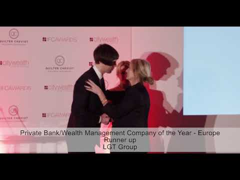 Citywealth IFC Awards 2018 - Private Bank of the Year - Europe - Runner up