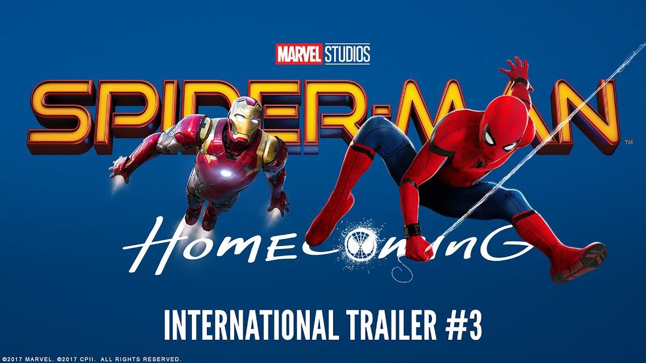 Spider-Man: Homecoming - internationale trailer 3 - UPInl