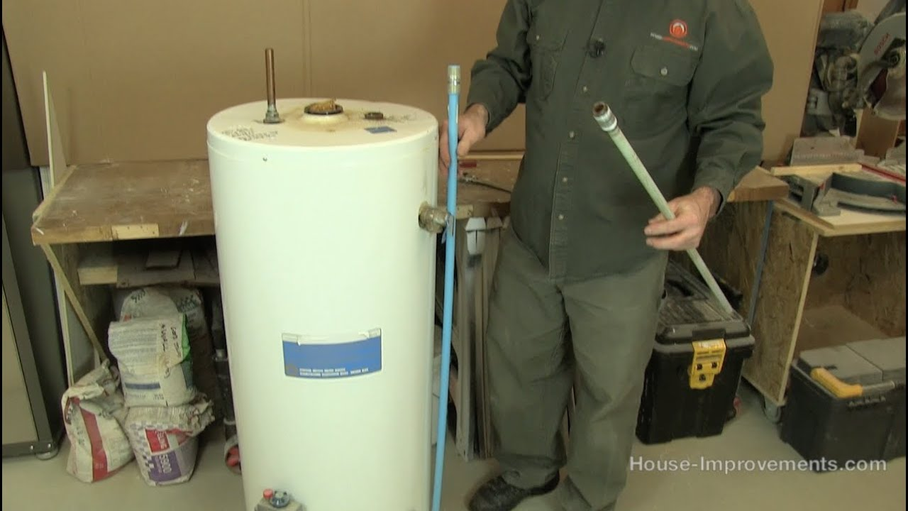 how to replace a water heater dip tube youtube. Black Bedroom Furniture Sets. Home Design Ideas