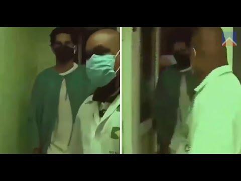 Difunden imágenes de Otero Alcántara en el hospital
