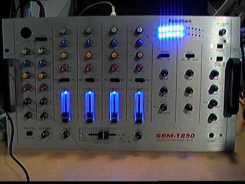 Radio Shack Ssm Mixer With Echo
