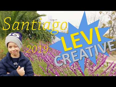 Férias em Santiago do Chile - Levi Creative - PARTE 1 - Cheg