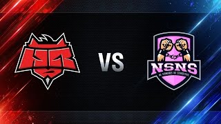 HellRaisers vs NS-NS - day 4 week 6 Season I Gold Series WGL RU 2016/17