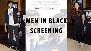Siddhant Chaturvedi, Daisy Shah attend Men in Black: International Screening