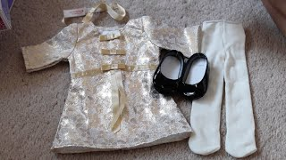 *Review* American Girl Melody's Christmas Outfit!
