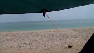 Дождь на Арабатской стрелке.(Азовское море. Арабатская стрелка. Ливень переходящий в дождь. 23 июня 2013г., 2013-07-18T08:54:45.000Z)